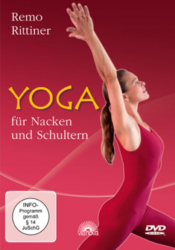 remo rittiner yoga f r nacken und schultern dvd. Black Bedroom Furniture Sets. Home Design Ideas