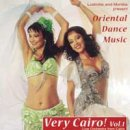 Live Orchestra from Cairo: Very Cairo! Vol. 1 - Oriental Dance Music (GEMA-Frei) (CD)