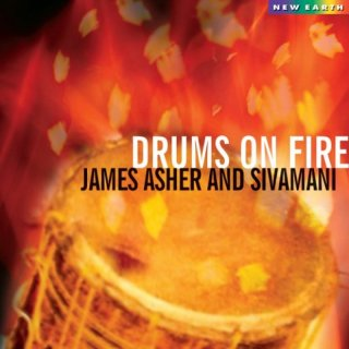 Asher, James: Drums on Fire (CD)