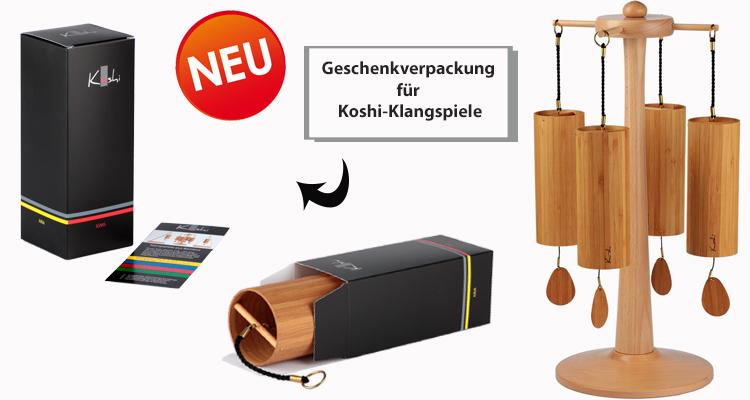 Geschenkverpackung für Koshi-Klangspiele