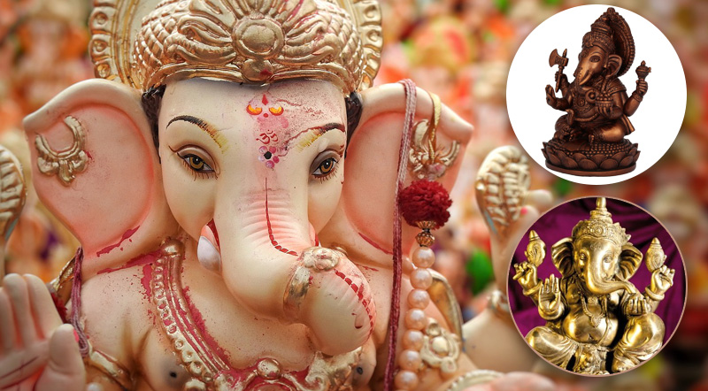 Ganesha als Glücksbringer