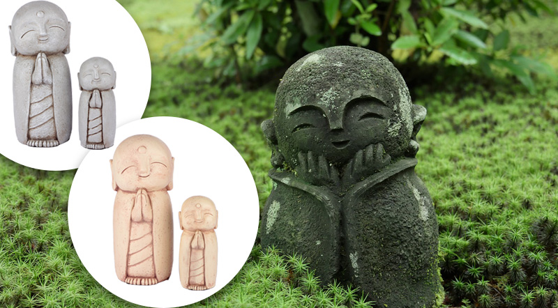 Jizo aus Japan als Glücksbringer