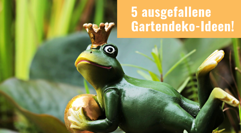 5 ausgefallene Gartendeko-Ideen - Ongnamo Blog