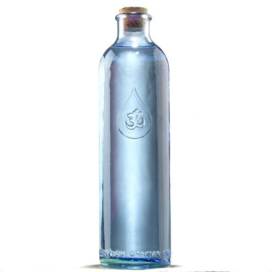 Wasserflasche OmWater zur Energetisierung des Trinkwassers