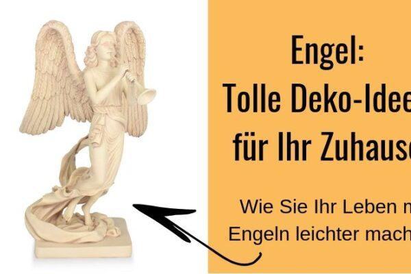 Tolle Deko-Ideen mit Engeln