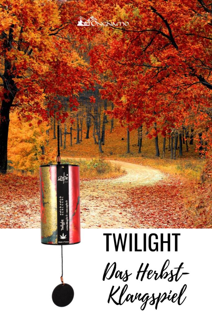 Zaphir-Klangspiel Twilight für gute Laune im Herbst