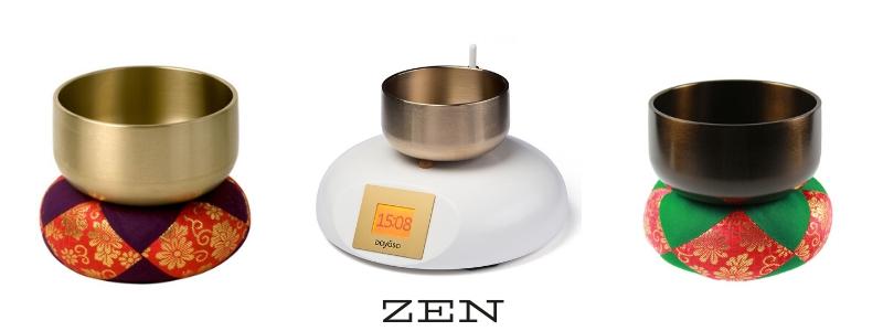 Japanische Klangschale. Ideal für die Meditation oder die Klangschalenuhr.
