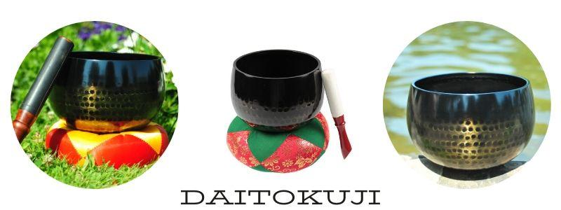 Japanische Klangschale: Die Tempelglocke DAITOKUJI ist wunderschön und ideal für die Meditation.
