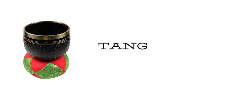 Klangschale Tang aus Japan: starkes Design und heller, glockenartiger Klang - ideal für die Meditation.