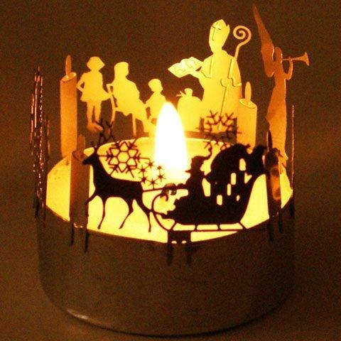 advent teelicht silhouette von 13gramm. Black Bedroom Furniture Sets. Home Design Ideas