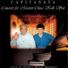 Capitanata: Concert for Master Choa Kok Sui (CD)