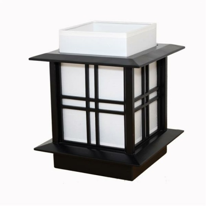 Japanese Lamp - Akida Black Top - 30 cm