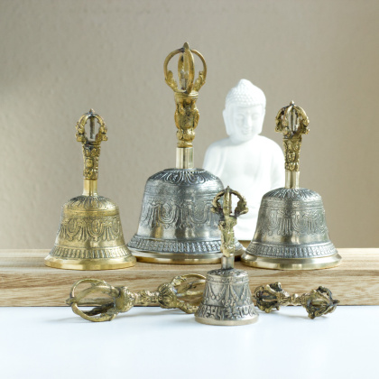 Ritual bell with Dorje