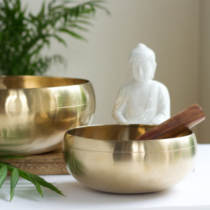 Peter Hess: Sangha-Bowl gold (approx. 2500 g)
