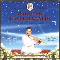 Chaurasia, Hari Prasad: Vol. 9/8 Late Night Melody für...