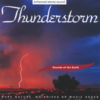 Sounds of the Earth - David Sun: Thunderstorm (CD) -A