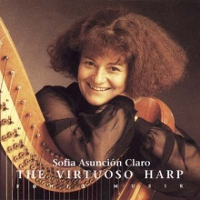 Claro, Sofia: The Virtuoso Harp (CD)