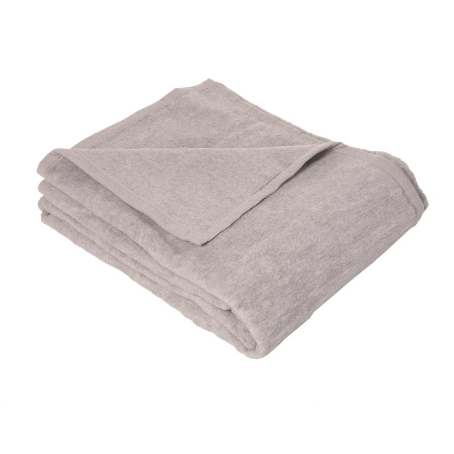 Baumwolldecke Grau