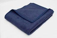 Baumwolldecke Marineblau