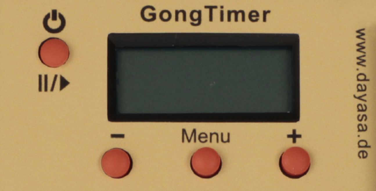 Control panel GongTimer