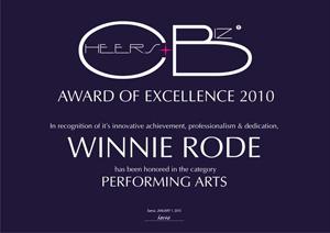 Winnie Rode Auszeichnung