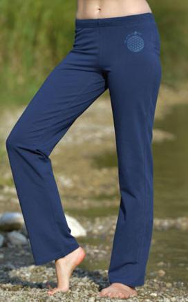 Wellnesshose in der Farbe blau