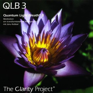 Kabbal, Jeru / The Clarity Project: Quantum Light Breath Vol. 3 (CD) | QLB 3