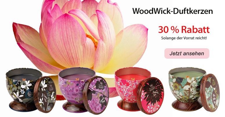 WoodWick-Duftkerzen