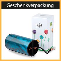 Geschenkverpackung für Zaphir-Klangspiele - von uns entwickelt und produziert