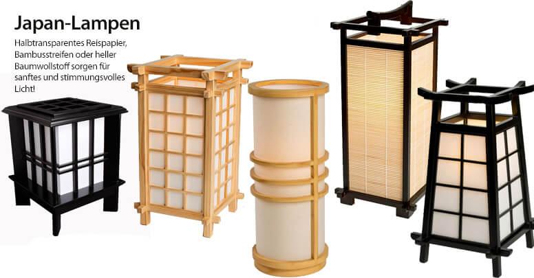 Japanische Lampen