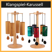 Klangspielständer Karussell - von uns entwickelt und produziert