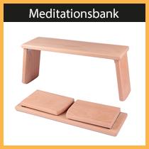 Meditationsbank - von uns entwickelt und produziert