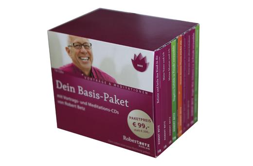 Robert Betz - Dein Basispaket mit 10 CDs
