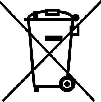 Symbol Entsorgung Elektroaltgeräte